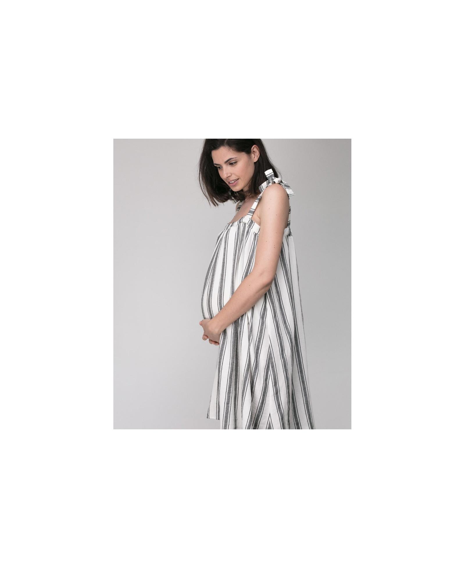 695664c24d78c Elegant dress Jospephine l during & after pregnancy | Joli Bump