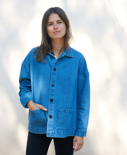 Veste en denim Mai