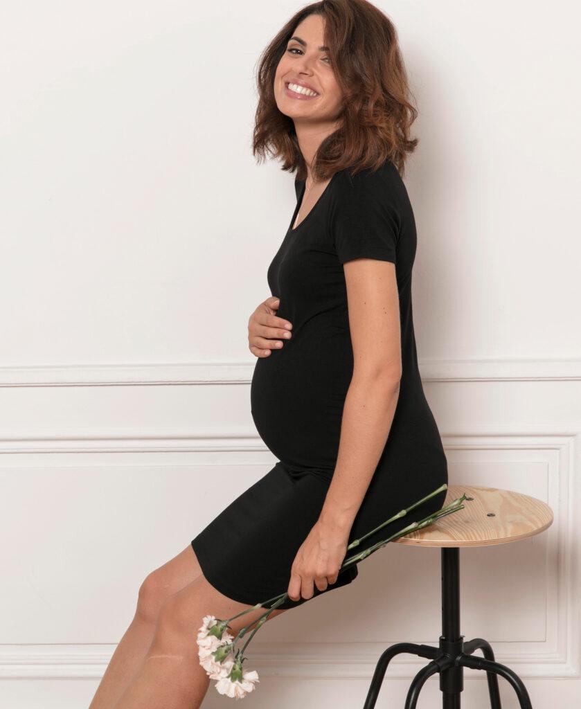 Robe de grossesse Lison ecoresponsable
