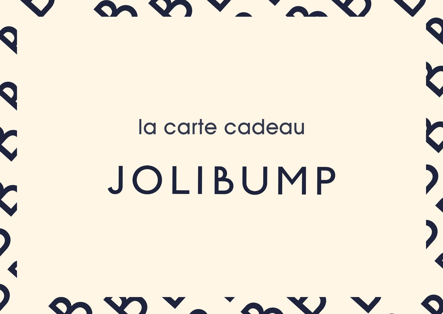 Carte cadeau JoliBump