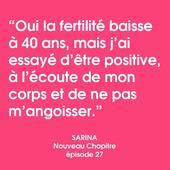 ♥️ @sarinalavagne — Extrait de l'épisode 27 de Nouveau Chapitre avec Sarina 🎧 — Plein de pensées à toutes celles qui sont dans ce cas, qui attendent, qui ressentent la pression sur le temps qui passe, on pense à vous, on vous serre fort. «It takes a village» aussi dans ces moments là. — Vous pouvez écouter l'épisode 27 de Nouveau Chapitre qui traite de la maternité après 40 ans, ainsi que le 1er épisode de la série 9 mois avec Delphine. — #podcast #extrait  #nouveauchapitre #futuremaman #enceinte #grossesse #maternité #podcasting #postpartum #motherhood #mamanapres40ans #modedurable #jolibump